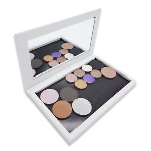 Medium Empty Magnetic Makeup Organiser - Gloss White Large Mirror Z Palette