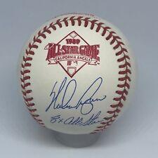 Nolan Ryan signed Rawlings 1989 All Star baseball Ryan Holo Inscribed HOF A269