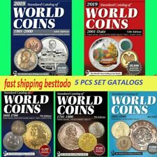 2019 Krause Standard Catalogs of World Coins 1601 to 2018 5pcs set Fast Shipping