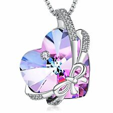 PURPLE BUTTERFLY LOVE NECKLACE - CHRISTMAS GIFTS IDEAS FOR WIFE MOM GIRLFRIEND