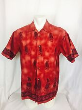 Denver Hayes Cabana Hawaiin Camp Shirt. Large. Men's. Great.