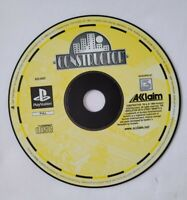 Constructor PlayStation One PS 1 UK PAL Simulation Game Disk Only