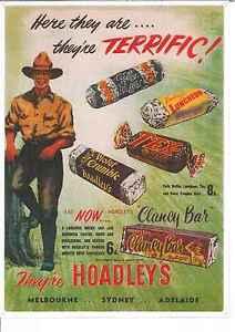 Hoadley's Chocolate Bars (512) Metal Sign