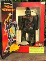 1984 Vintage SOMA Battery Operated ROBOT WARRIOR Hong Kong No. 912 DOES NOT WORK