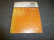Case 580 Super E Construction King Loader Backhoe Parts Catalog Manual