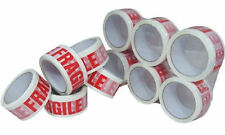 """1 x Low Noise FRAGILE Tape Roll - 48mm x 66m - Top Quality 2"""" wide - Packing"""