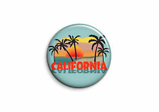 USA - California 1 - Badge 56mm Button Pin