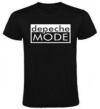 Camiseta Depechemode musica Hombre varias tallas y colores a079