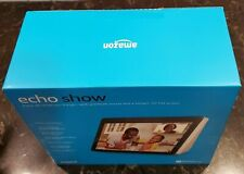 """AMAZON ECHO SHOW 2nd GENERATION 10"""" HD SCREEN color black NEW / SEALED BOX"""