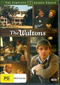 The Waltons: Season 2 (DVD, 2016, 5-Disc Set) - Region 4 - Brand New