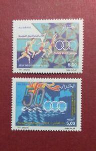 Algeria 2001 50th Anniversary of the Mediterranean Games in Tunisia MNH