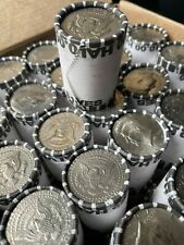 Unsearched Half Dollar Coin Roll