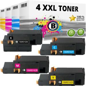 4x XL TONER für Xerox Phaser 6000 6010 WC6015 WC6015VB WC6015VN WC6015VNI Set