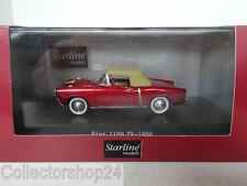 Starline : Fiat 1100 TV Light Bordeaux Red  - 1959 - STA526036