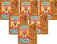 6-Pack of Mr. Bird Flaming Hot Feast Small Wild Bird Seed Cake 4 oz.
