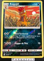 Carte Pokemon BAGGAÏD 138/236 Rare REVERSE Soleil et Lune 11 SL11 FR NEUF