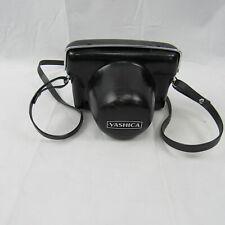 Yashica Camera Lynx 14e Yashinon-DX 45mm F/1.4 W/ Black Leather Case Used