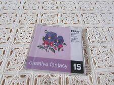 Pfaff Emb. Machine Card Creative Fantasy #15 Mother's Day 7570,7560, 2140,217