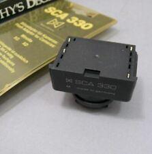 Metz  SCA 330 for Minolta XG & XD . For Metz SCA 300 systems.
