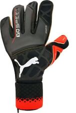 PUMA Evospeed 1.5 GK Gloves Goalkeeper Size 10 Soccer Black Red