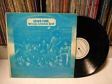 GRAND FUNK RAILROAD -We're An American Band KOREA LP Diff Edit , Blue Cvr