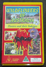 WILDFLOWERS OF AUSTRALIA  flowers and their habitats VHS/VIDEO