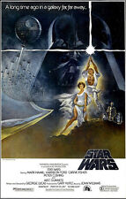 STAR WARS - EPISODE IV - A NEW HOPE (MOVIE POSTER) Rolled Poster