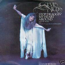 SINGLE 45 STEVIE NICKS STOP DRAGGIN'MY HEART HOLLAND