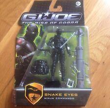 GI Joe Rise of the Cobra - Snake Eyes Ninja Commando - NEUF
