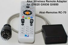 Wireless Remote adapter RC-70 to AKAI GX620 GX636 GX650