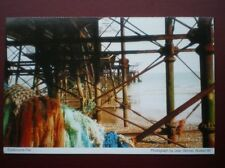 POSTCARD B16 SUSSEX UNDER EASTBOURNE PIER
