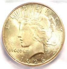 1926-S Peace Silver Dollar $1 - Certified ICG MS66 - Rare Grade - $3,000 Value!