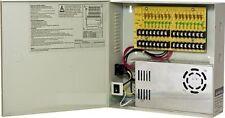 16 Channel 12v DC 30A High-Power Distribution Box: PTC Fuse-Less, 1.8A/ch max