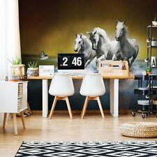 Horses Photo Design Wallpaper Wall Mural Fleece Easy-Install Paper