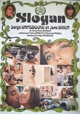 SLOGAN Japanese B1 movie poster R99 SERGE GAINSBOURG JANE BIRKIN NM
