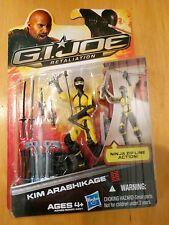 Kim JINX Arashikage Ninja GI Joe Retaliation new action figure 25th 30th POC