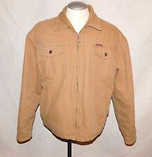 Mens 100% Cotton Marlboro Classics Zip Front Quilted Jacket sz XXL
