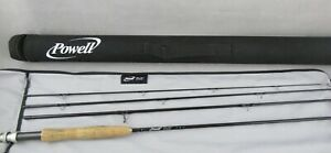 POWELL 8.3FT  4-PC 4WT  FLY ROD WITH CASE