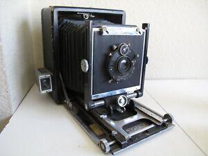 "Burke & James 4x5 Watson Press Camera w/Goerz Dagor 5"" f6.8 Lens"