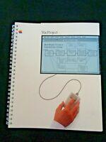 Vintage Apple Computer Macintosh Mac User's Manual 1984 MacProject Software Book