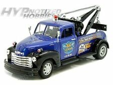 Welly 1:24 N/B 1953 Chevrolet Tow Truck Die-Cast Blue/Black 28286S