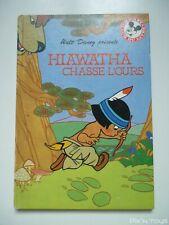 Livre Disney - Club du livre Mickey / Hiawatha chasse l'ours