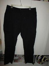CHICO'S BLACK COTTON PANTS -VERY CUTE SIZE 2.5