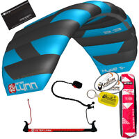 Peter Lynn Hype TR 2.3 M Foil Power Trainer Kite Kiteboarding 2-Line Control Bar