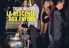 COUPURE DE PRESSE CLIPPING 2009 TIGER WOODS   (4 pages)