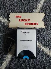 Ruizu Digital Music Player (Mp3, Voice Recording, White Color) 128Gb