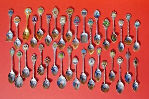 VINTAGE AUSTRALIA & NEW ZEALAND COLLECTORS SPOONS - CHOOSE FROM LIST LOT A3