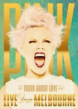 PINK (THE TRUTH ABOUT LOVE - LIVE FROM MELBOURNE DVD SEALED + FREE POST)