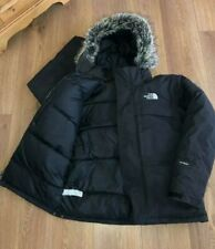 THE NORTH FACE RRP £300 ICE PARKA COAT GOOSE DOWN PUFFA HOODED HYVENT MCMURDO S