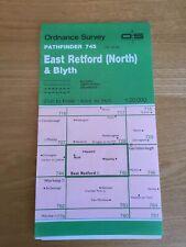 1987 Ordnance Survey Pathfinder Map 745 SK68/78 East Retford (North) And Blyth